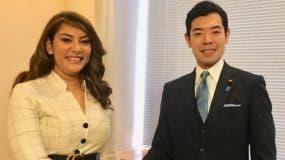 Robiamny Balcácer y Kazumi Matsui.