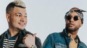 Los cantantes urbanos Jowell y Randy.  Archivo