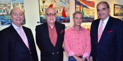 Vicente Liz, Jorge Cuello, Fabré Sallent y  Felipe Guerra.