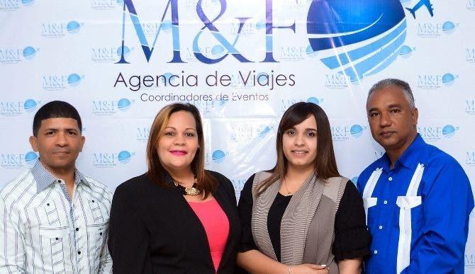 Manuel Veras, Lelia Báez, Yudisa Francisco y  Francis Martínez.