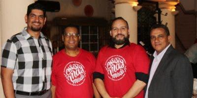 Jhon Polanco, Ramón Chávez, Omar Rivera y Olmedo Jáquez.