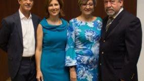 Junior Henríquez, Lina Aróstegui, Luz María Cortázar y Carlos Arturo Mejía.