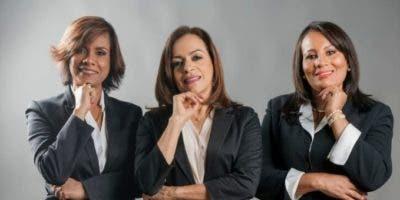 María Sosa, Josefina Acosta y  Adalgiza Brito.