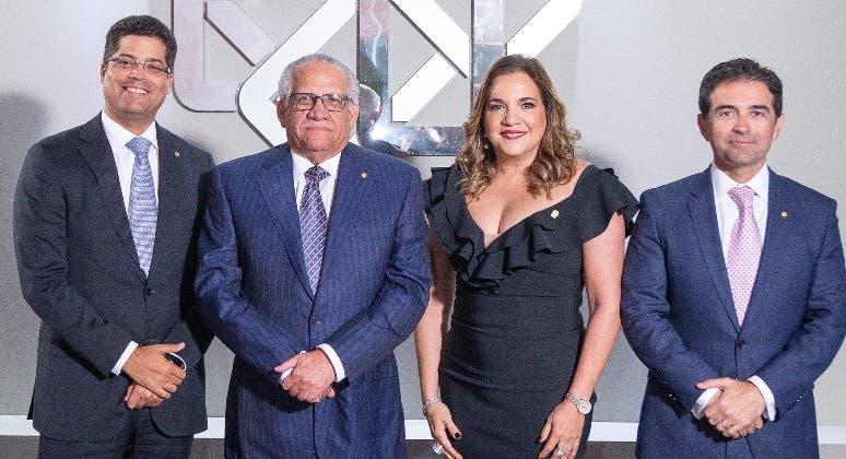 Rafael Izquierdo, Ernesto M. Izquierdo, Dolores Pozo y Luis Carlos López.