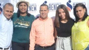 Ricardo Núñez, Fanny Medina, Reinaldo Ferrer, Fernanda Rojas y Patricia Turbí.