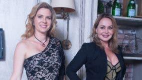 Gaby Spanic y  Sonya Smith  estuvieron de promoción en el pais.