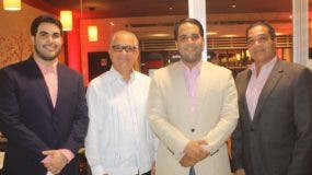 Adrián Amarante, Manuel Amarante, Enmanuel Amarante y Ramón del Rosario.