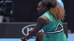 La estadounidense Serena Williams debutó con un triunfo.