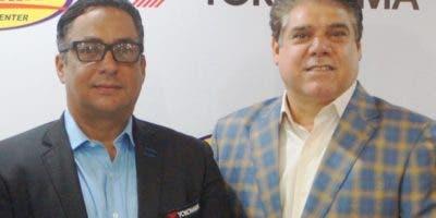Marcos Pichardo y Georgie Herrera hacen  anuncio. ARCHIVO