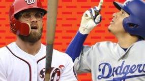 Bryce Harper y Manny Machado  buscan contratos récords.