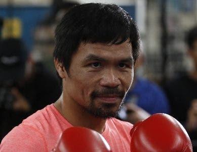 Manny Pacquiao se mide mañana a Adrien Broner.
