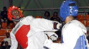 Luisito Pie en plena acción en una competencia.