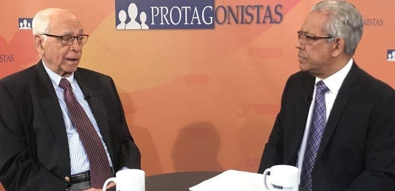 Bisonó ofrece declaraciones a Mario Emilio Guerrero.