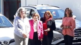 María Filomena Barletta, Mary Pérez Marranzini, María Eduviges Matías y Francia Idalia Medrano.