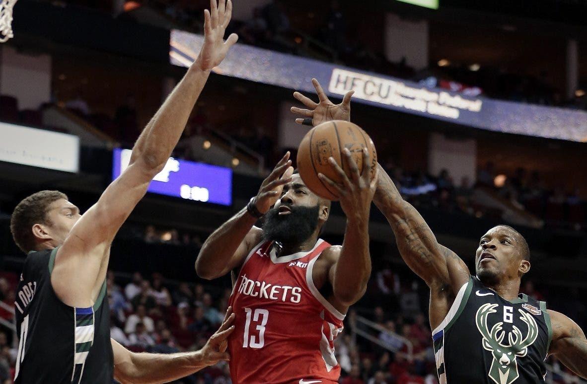 James Harden está teniendo otra gran temporada para Houston Rockets en la NBA.  Ap