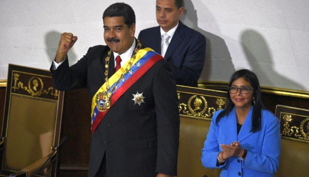 Maduro tomó juramento ante el Tribunal Supremo de Justicia (TSJ), en Caracas,