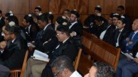 El Ministerio Público inició ayer la presentación de la acusación  contra los  implicados en el caso de sobornos.  JOSÉ DE LEÓN