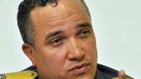 Ney Aldrín Bautista, director de la Policía Nacional.  archivo