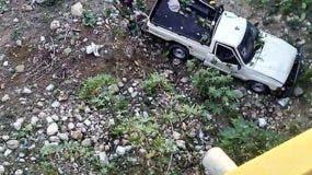 El fallecido es el señor José Armando Cruz Hilario de 43 años de edad, nativo de la comunidad Bajabonico Arriba en el municipio de Altamira, mientras que el herido es Enrique Tavárez Almengot de 25 años de edad.