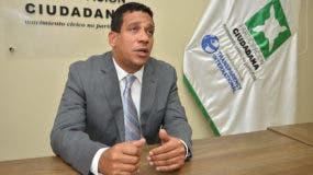 Carlos Pimentel, director ejecutivo de Participación Ciudadana.