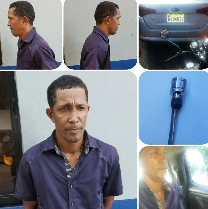 Detienen en Sosúa hombre que robó automóvil en parqueo de supermercado