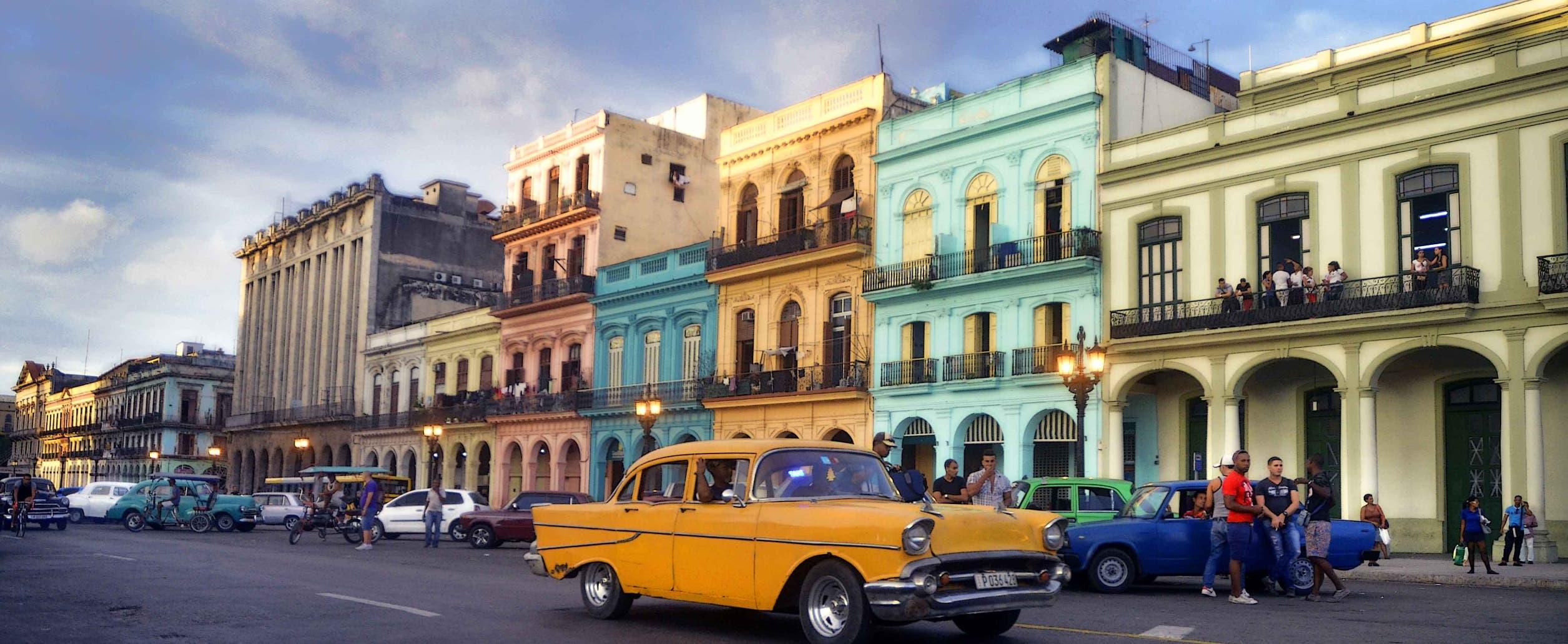 """Están recuperando el patrimonio cultural """"dentro de la realidad de Cuba""""."""