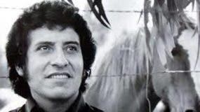 El cantautor chileno Víctor Jara.