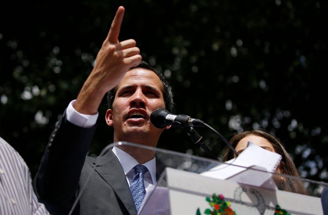 Juan Guaidó. Foto de archivo.