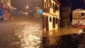 Las lluvias dejaron cientos de viviendas anegadas.