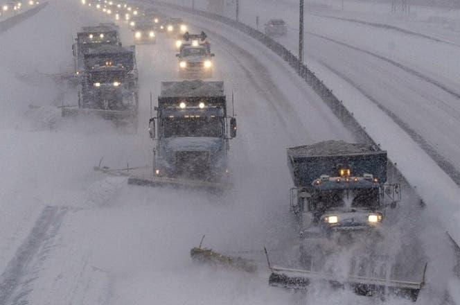 La  tormenta de nieve podría afectar este próximo fin de semana los estados de Nueva York, Nueva Jersey, entre otros.