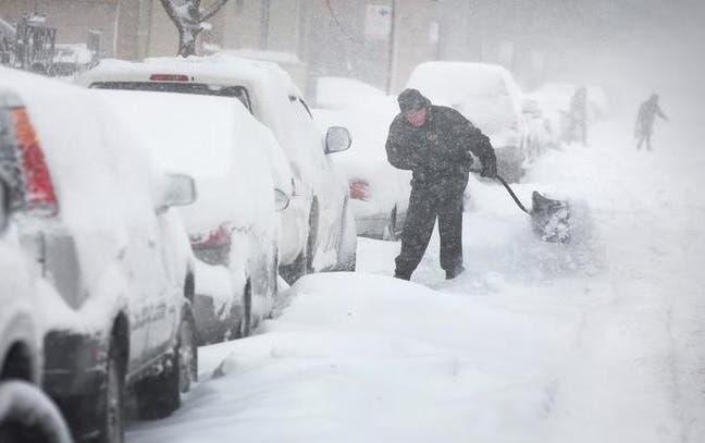 Nieve y frío polar este fin de semana en NY; ofertan empleo para el invierno