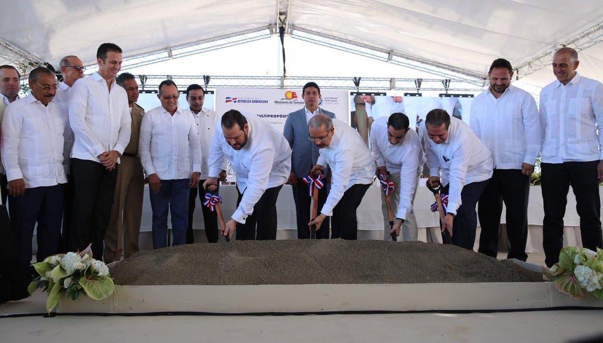 Dejan iniciados los trabajos de construcción puerto multipropósito en Puerto Plata