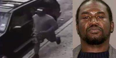Los investigadores dicen que Cross fue identificado en la imagen de una cámara de seguridad, y ubicado en el Banco de Datos de las pandillas, como un pandillero activo.