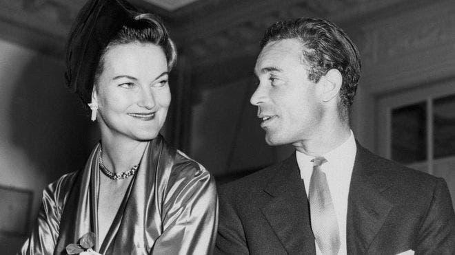 Uno de los matrimonios de Rubirosa fue con la millonaria estadounidense Doris Duke.
