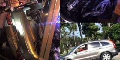 sigue-en-aumento-ocurrencia-de-accidentes-de-transito-en-vias-de-puerto-plata-con-alto-saldo-de-lesionados
