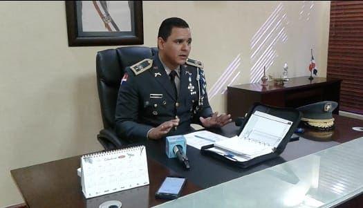 Coronel Pablo Francisco Ortega Brito, nuevo director de la Dican.