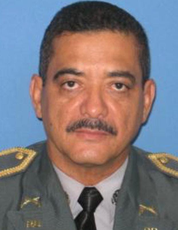 Foto de archivo del coronel Daniel Ramos Álvarez, muerto de dos disparos en el pecho en la ciudad de Baní.