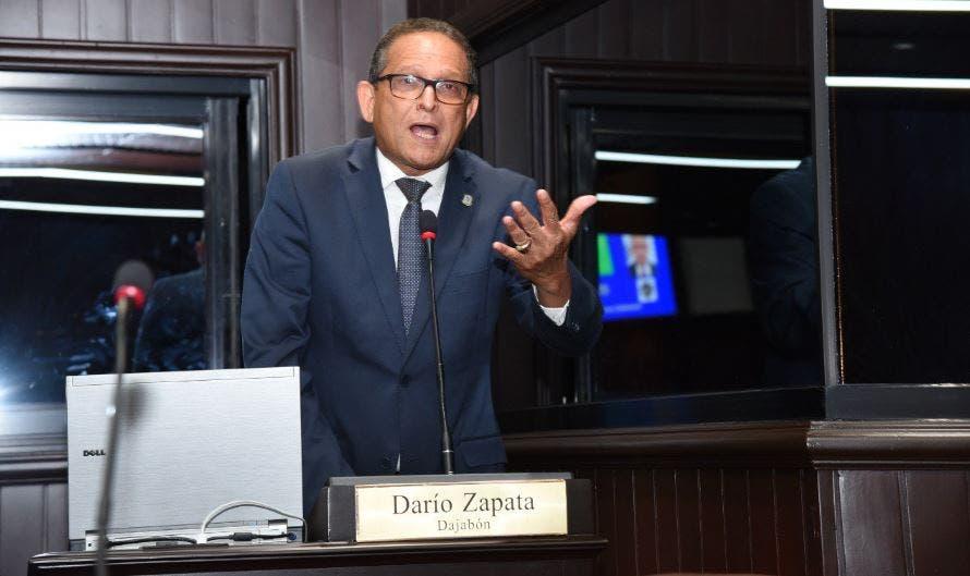 Darío Zapata, diputado del Partido Revolucionario Moderno (PRM) por la provincia Dajabón,