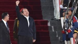 Daniel Ortega asistió al acto.