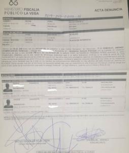 Este el documento de la querella interpuesta por Ala Jazá.