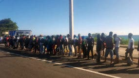 Las autoridades presumen que los haitianos indocumentados detenidos se dirigían a una de las provincias de la región Este del país, a desarrollar labores agrícolas.
