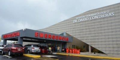 Fachada del hospital traumatológico Doctor Darío Contreras.