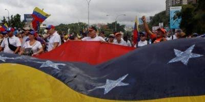 Los opositores se movilizaron en Caracas y en varias ciudades del interior del país,