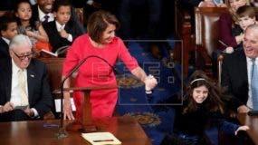 La veterana representante de California, de 78 años, sumó más de los 218 votos necesarios para convertirse en la nueva presidenta de la Cámara Baja.