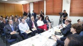 La reunión se realizó en la sede de la JCE.
