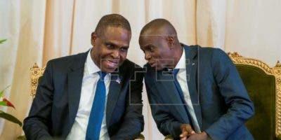 Presidente de Haití, Jovenel Moise, y el primer ministro, Jean Henry Ceant