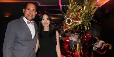 Activil Modeste y Carmen   Martínez.