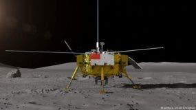 sonda, que incluye un módulo y un vehículo explorador, fue lanzada el 8 de diciembre de 2018 por un cohete Larga Marcha 3B desde el Centro de Lanzamiento de Satélites de Xichang, en la provincia de Sichuan, en el suroeste.