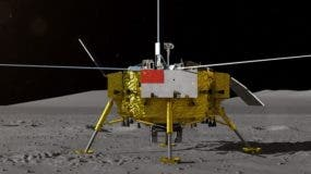 """La sonda Chang'e 4 de la Administración Nacional Espacial de China es la primera que aluniza en el """"lado oscuro"""" de nuestro satélite."""