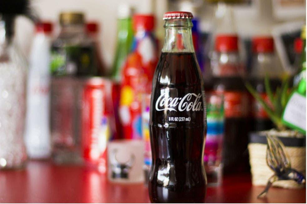 Coca Cola-soda-refresco